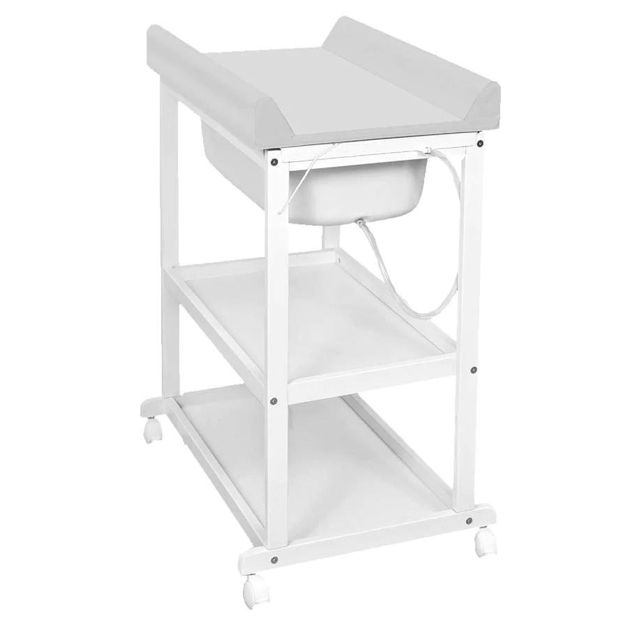 Utrolig Baby Stellebord | Babydan Stellebord Med Skuff Og Hylleuttak Hvit OP-36
