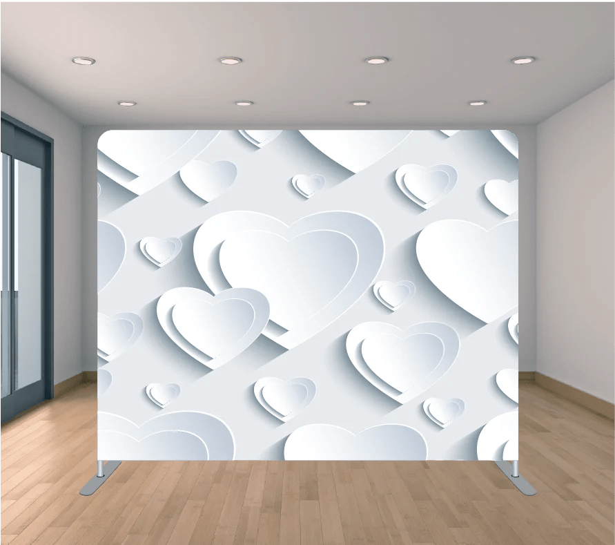 8x8ft pillowcase tension backdrop