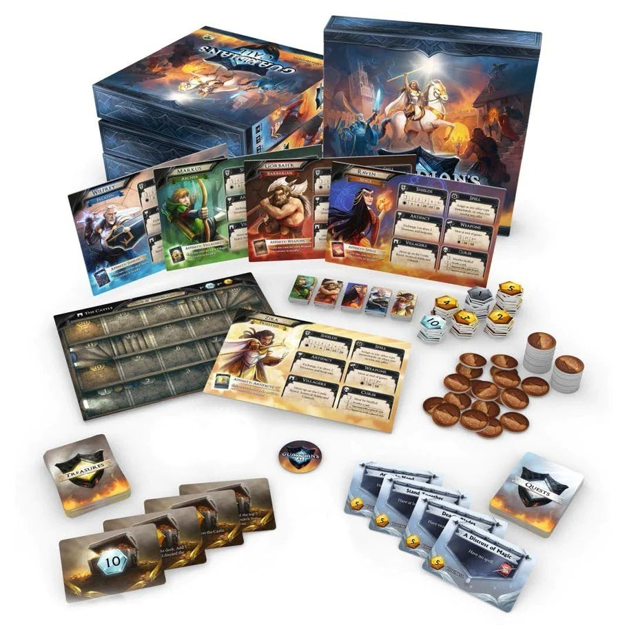 Guardians Call Board Game The Board Gamer