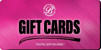 Gift Cards for Booty Bands & Barbells Store