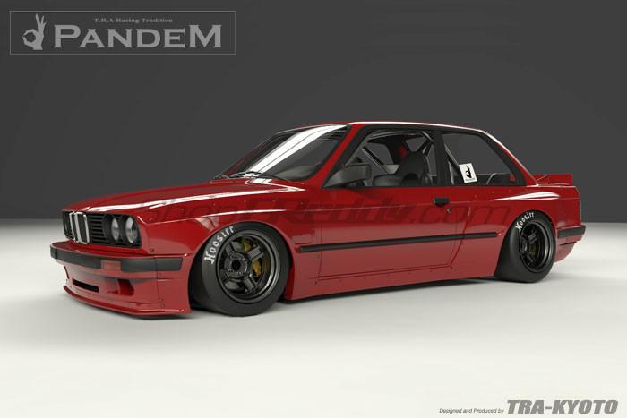 Pandem Wide-Body Aero Kit - BMW E30 3 Series Coupe – Crown Speedlab