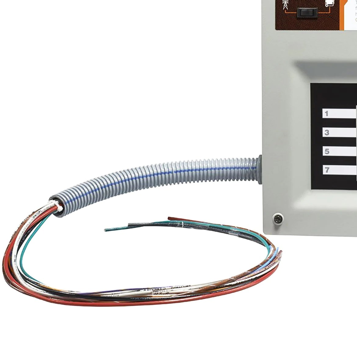 hight resolution of generac 6853 30 amp 6 8 circuit homelink indoor manual transfer switch kit