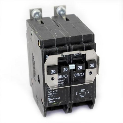 Wire 220 Breaker On Double Pole Gfci Breaker Wiring Diagram