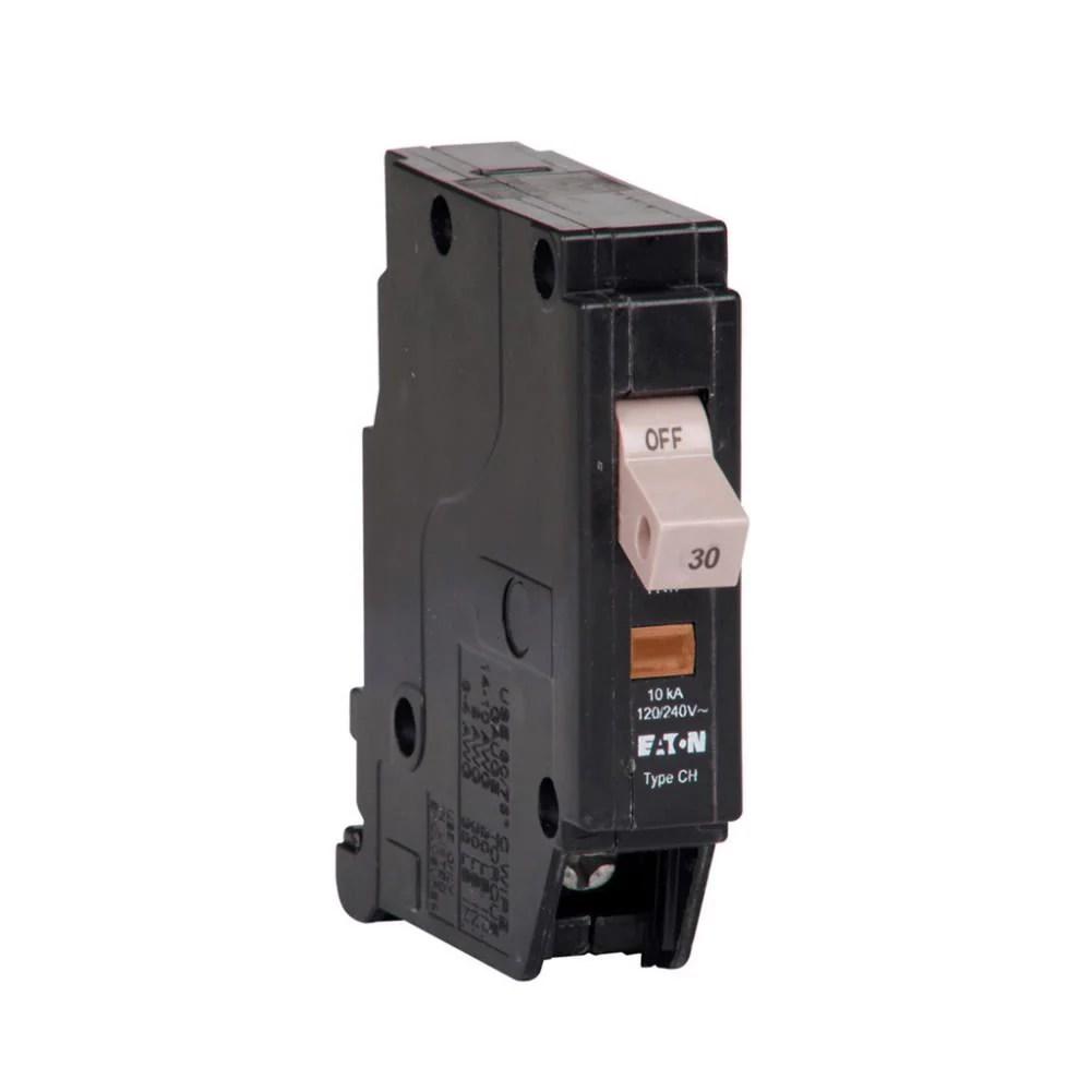 medium resolution of chf130 eaton cutler hammer 30 amp 1 pole 240 volt plug in circuit