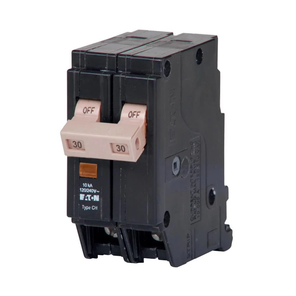small resolution of chf230 eaton cutler hammer 30 amp 2 pole 240 volt plug in molded