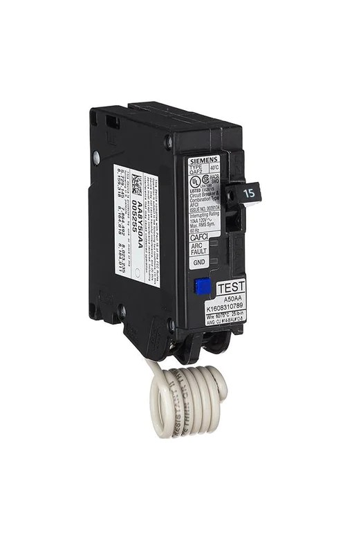 Qo 15amp 1pole Combination Arc Fault Circuit Breaker At Lowescom