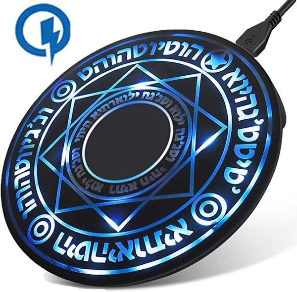 魔法陣充電器 急速置くだけ充電 USB無線充電器 - AINOIE