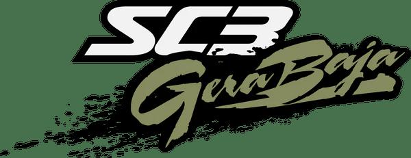SC3 Gera Baja Desert Ready Dual Sport Motorcycle Logo by TnsnDvsn