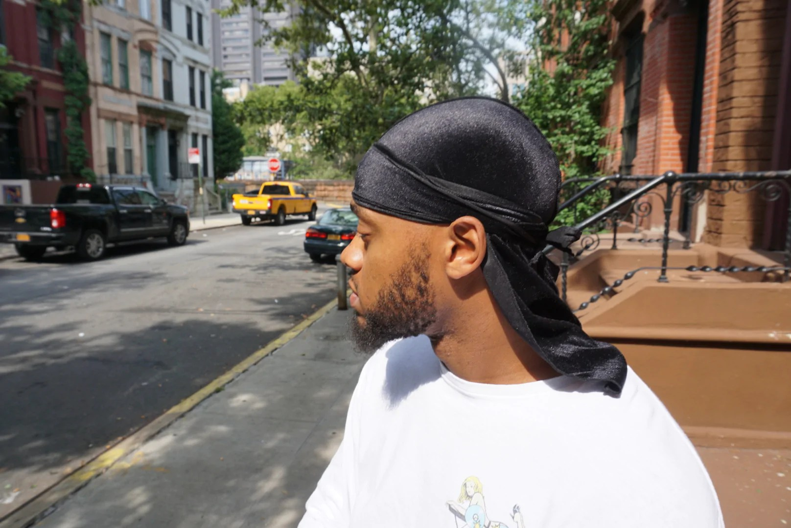 Double R Rags New Velvet Durag Head Wear For Waves and Style