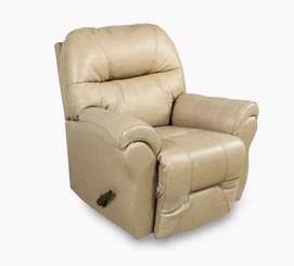 bree stone leather swivel rocker recliner