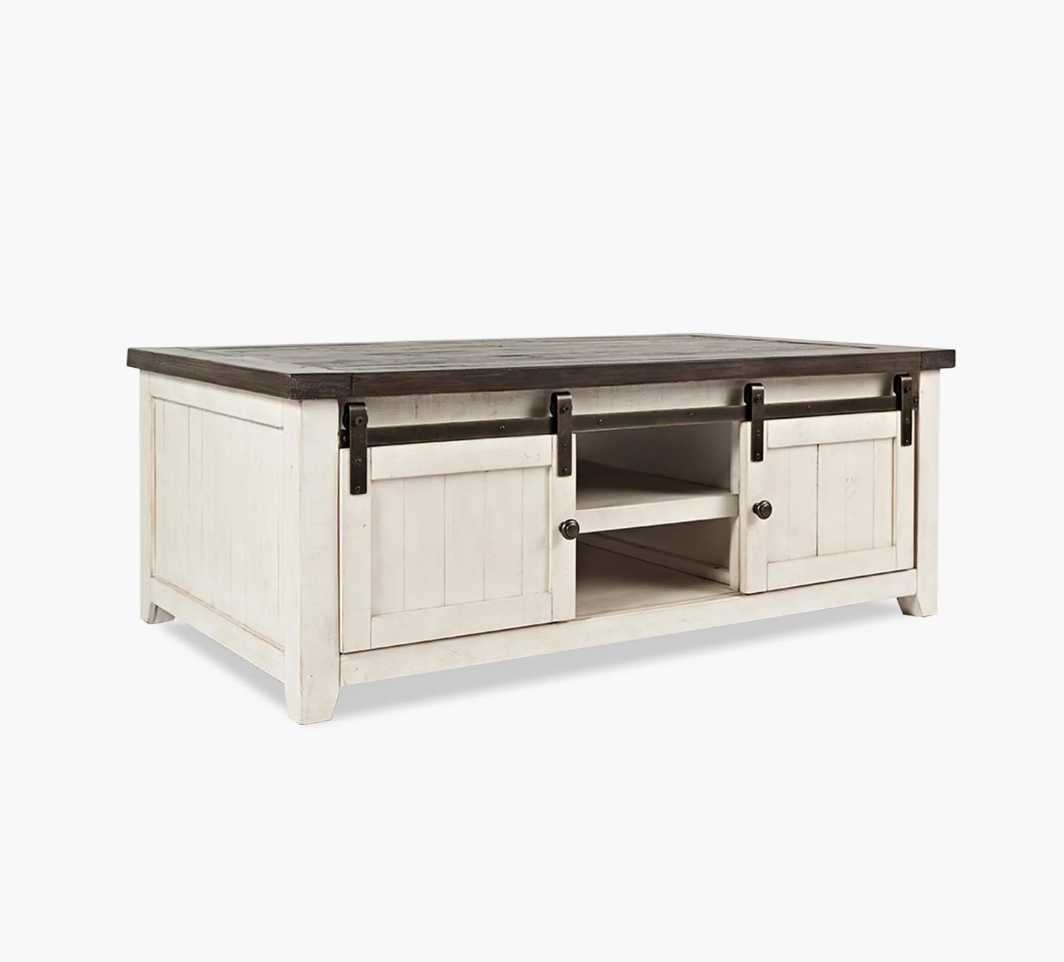 madison county two tone cocktail table