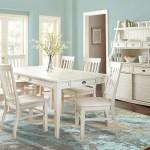 Cayla White 5 Piece Dining Set Kane S Furniture