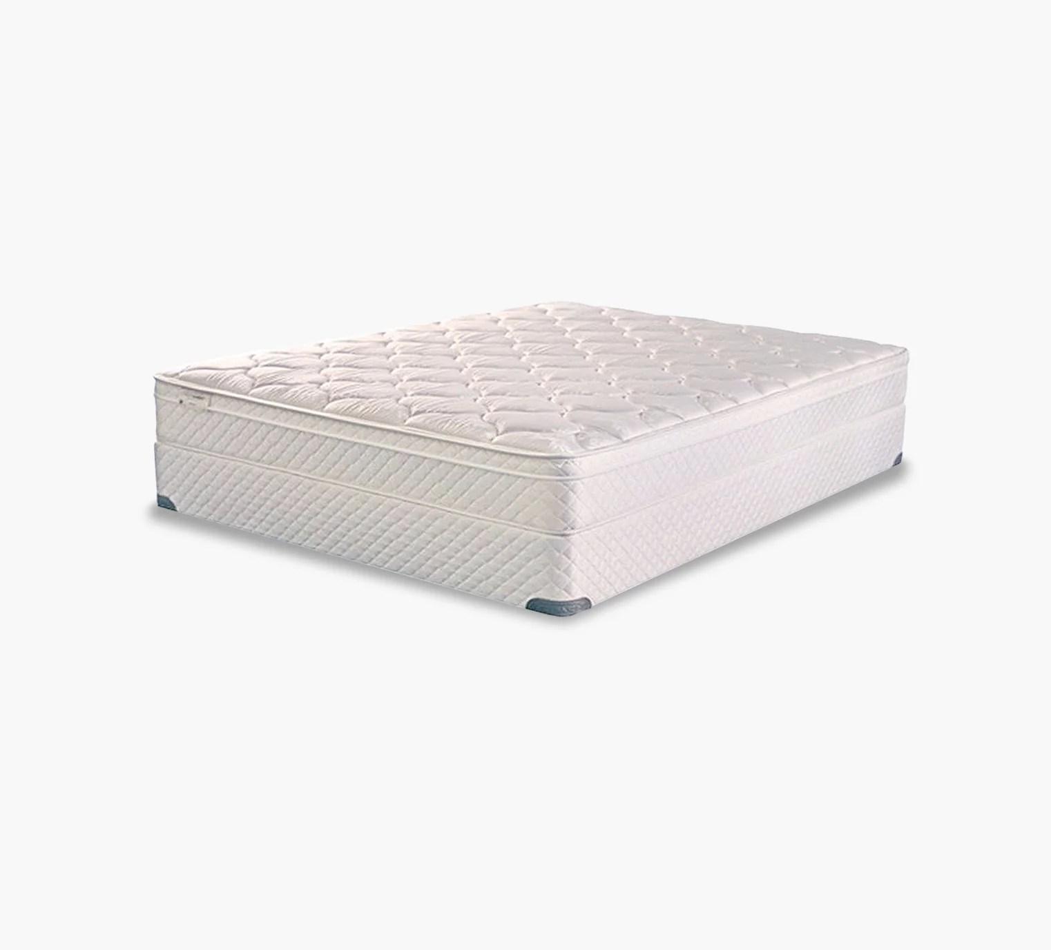 therapedic meadow plush pillow top twin mattress set