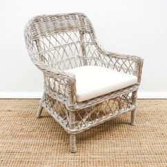 Cane Chairs New Zealand Best Chair For Console Gaming The Importer Seating Rattan Armchair Whitewash