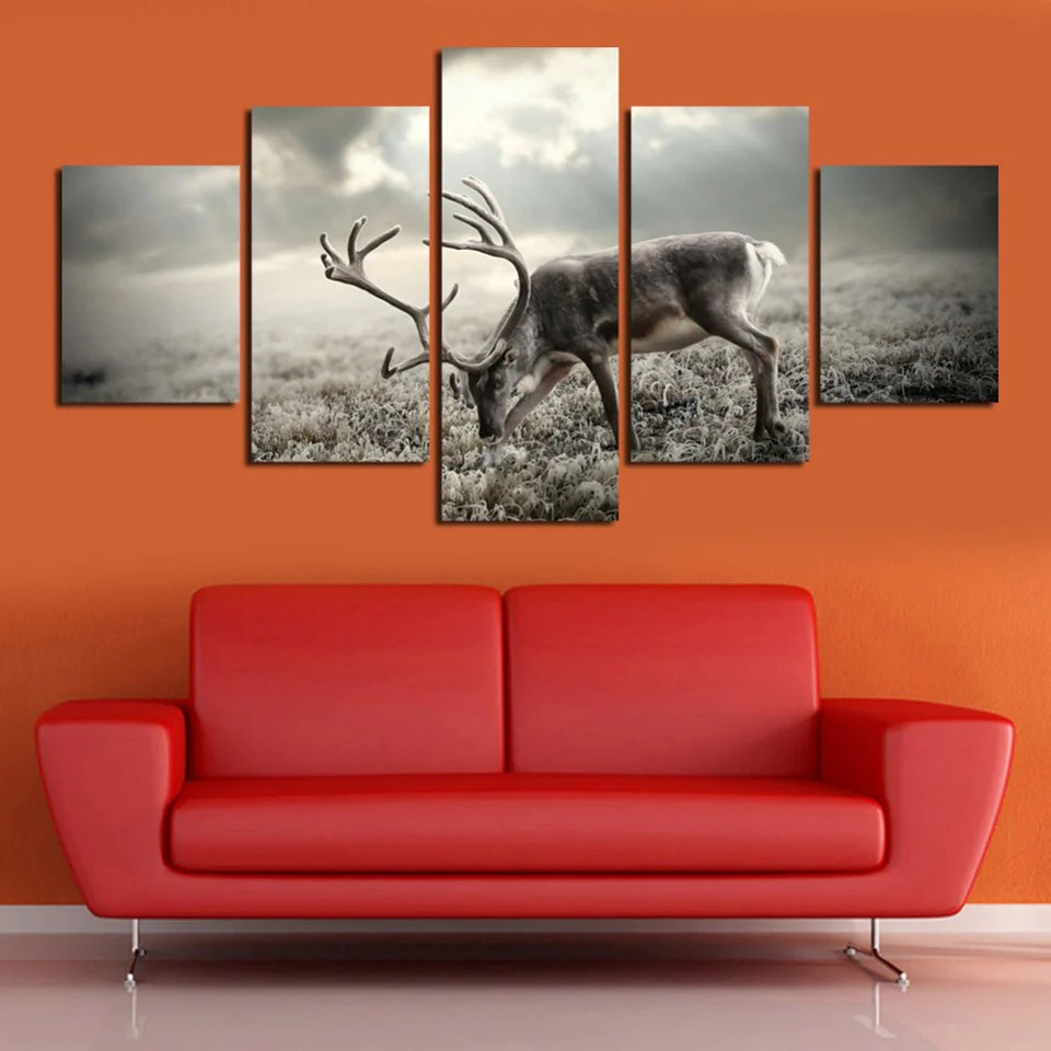 Modular Poster Hd Printed Pictures Home Decor Painting 5