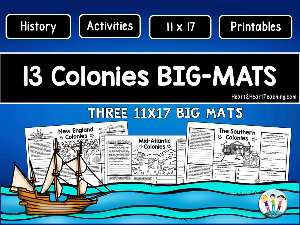 hight resolution of 13 Colonies Powerpoint – Heart 2 Heart Teaching
