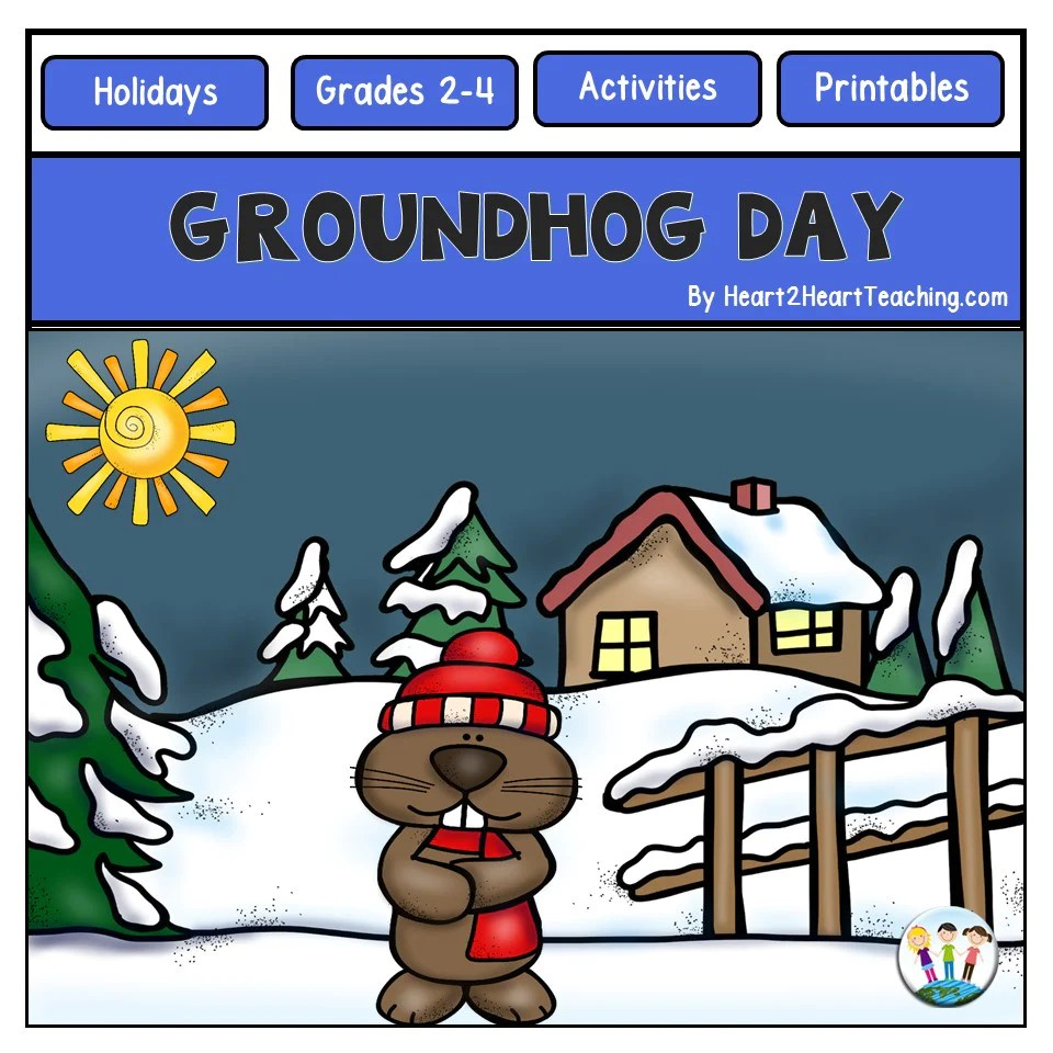small resolution of Groundhog Day Activity Pack with Passages