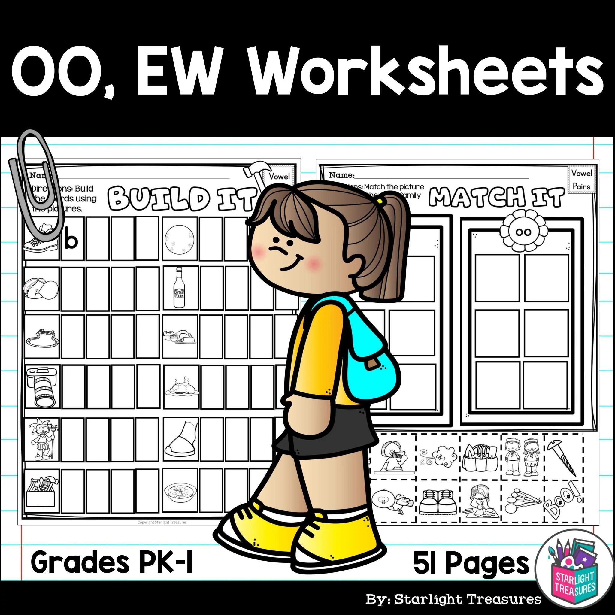 Sims Free: Ew Phonics Worksheets [ 2048 x 2048 Pixel ]