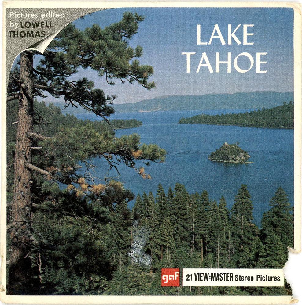 viewmaster lake tahoe vintage 3 reel packet 1960s views