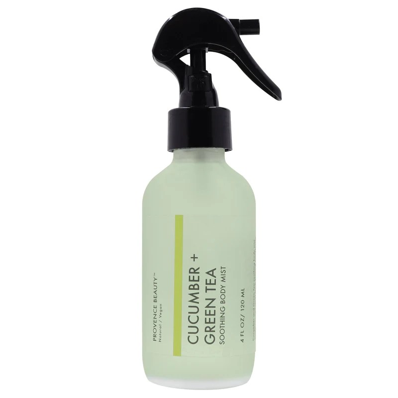 Soothing Cucumber Green Tea Body Mist Spray Provence