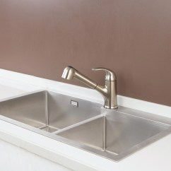 Rv Kitchen Sink Salvaged Cabinets Single Handle Pull Out Boat Caravan Faucet Aosgya