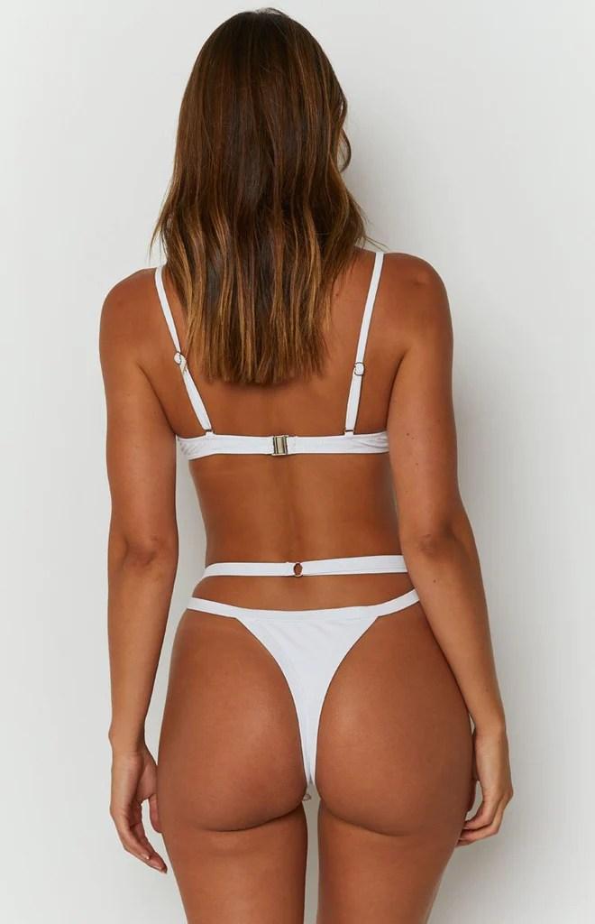 9.0 Swim x Attina Bikini Bottoms White 8