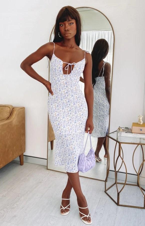 Baldwin Maxi Dress Floral
