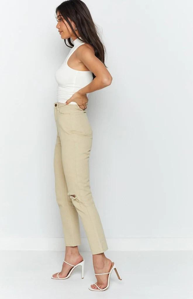 Della Jeans Beige 8