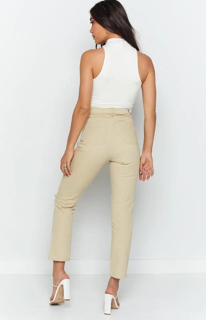Della Jeans Beige 9