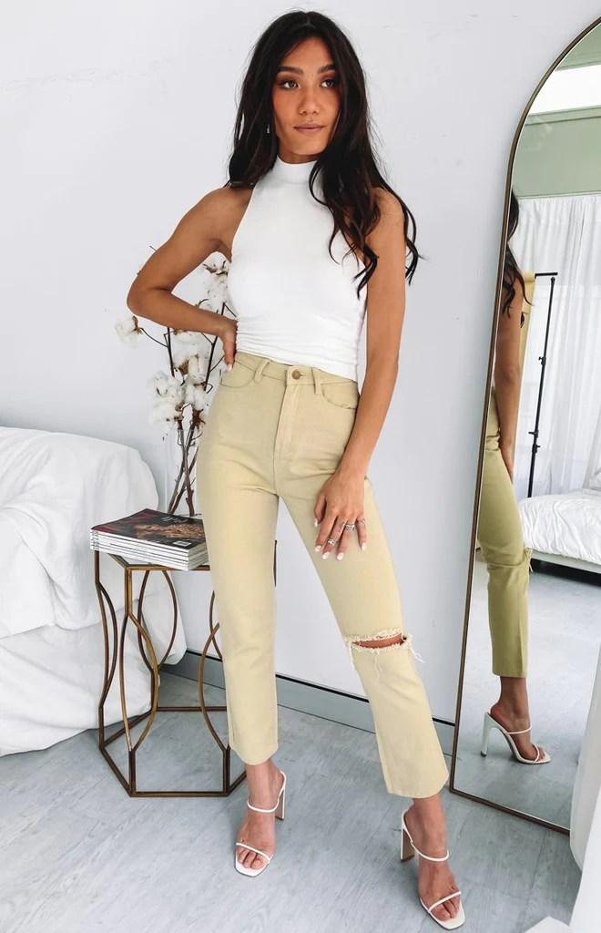 Della Jeans Beige 3