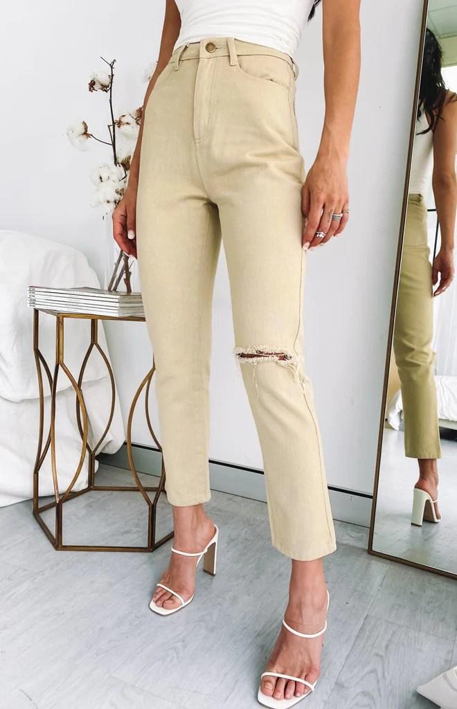 Della Jeans Beige 4