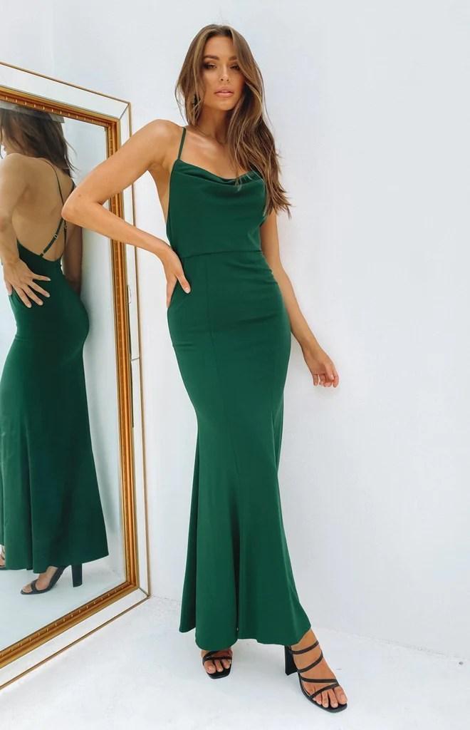 Karen Formal Dress Green 1