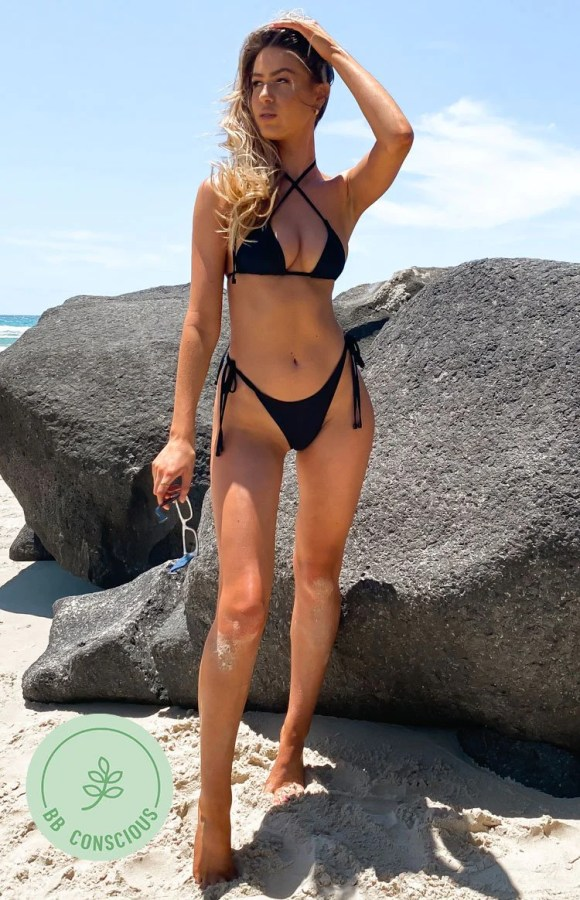 9.0 Swim Retreat Bikini Bottoms Black