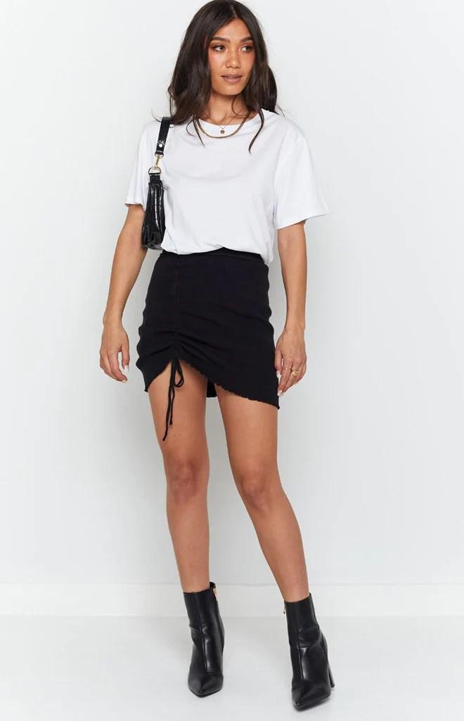 Summertide Skirt Black 5