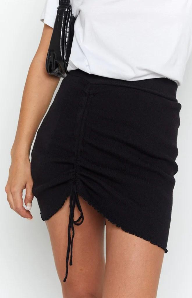 Summertide Skirt Black 7