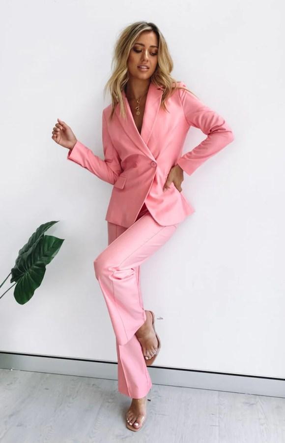 Tru Blazer Pink