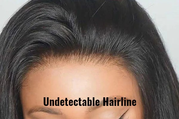 Undetectable hairline