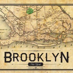 Adirondack Chair Photos Ikea Wicker Chairs South Brooklyn Vintage Map – I Lost My Dog
