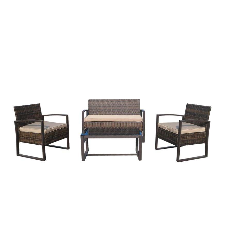 Remarkable Outdoor Sets Mandaue Foam Philippines Rogan 4Pc Outdoor Sofa Evergreenethics Interior Chair Design Evergreenethicsorg