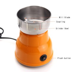 Electric Grinder Kitchen Appliance Brands Portable Auto Manual Coffee Machine Home Salt Pepper Mill Spice Nuts
