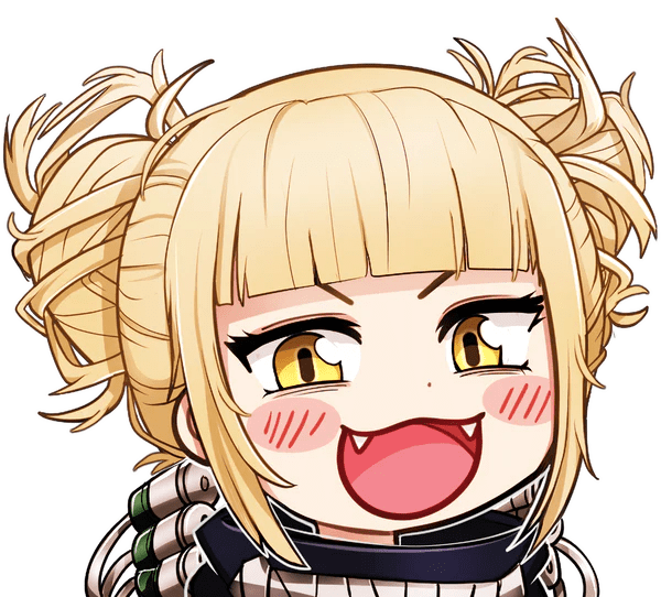 chibi toga sticker