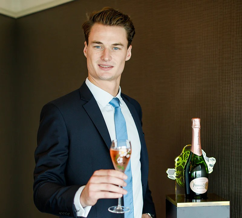 christmas champagne masterclass with