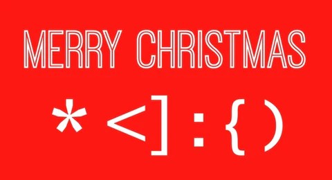 merry christmas a happy