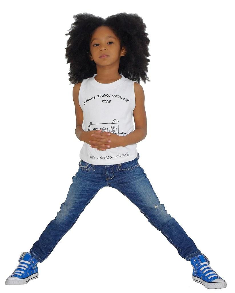 kids skinny jean unisex