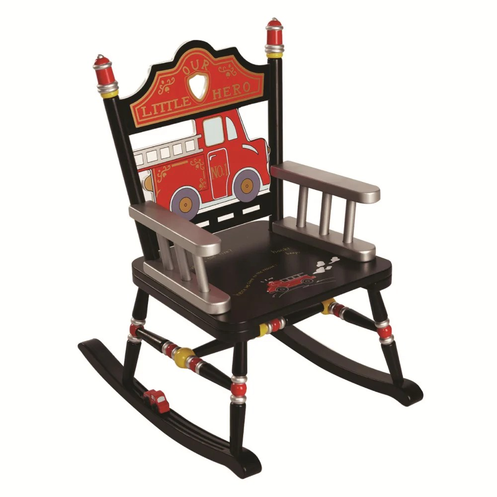 Kids Rocking Chairs Child Rocking Chair Fire Engine Kids Rocker