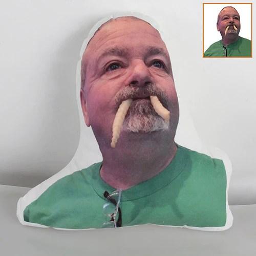 customized face photo pillow pillow