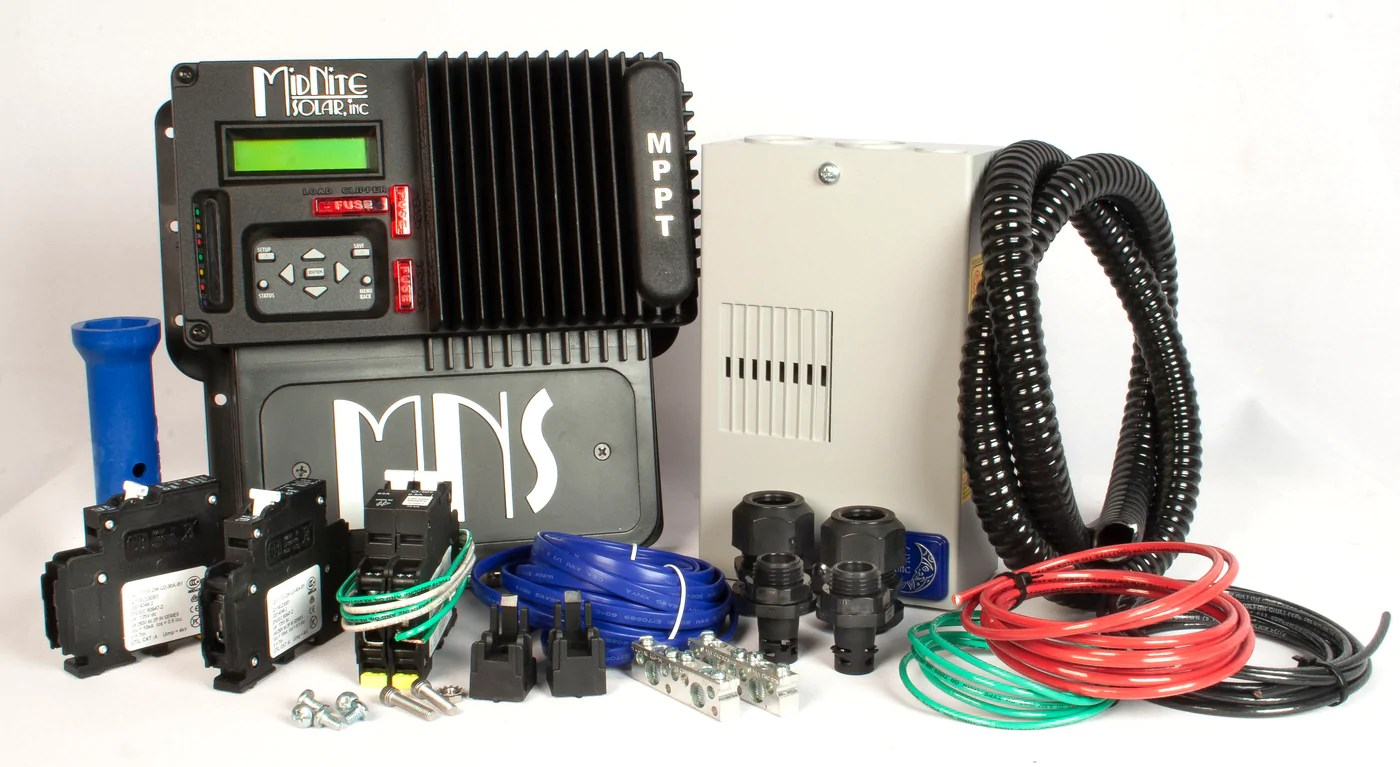small resolution of midnite solar kid 30a mppt charge controller kit mnkidbasic kit solar panels and solar equipment