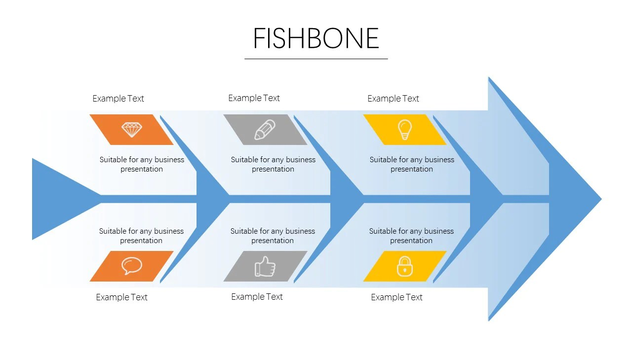 load image into gallery viewer fishbone diagram powerpoint template powerpointeasy  [ 1280 x 720 Pixel ]