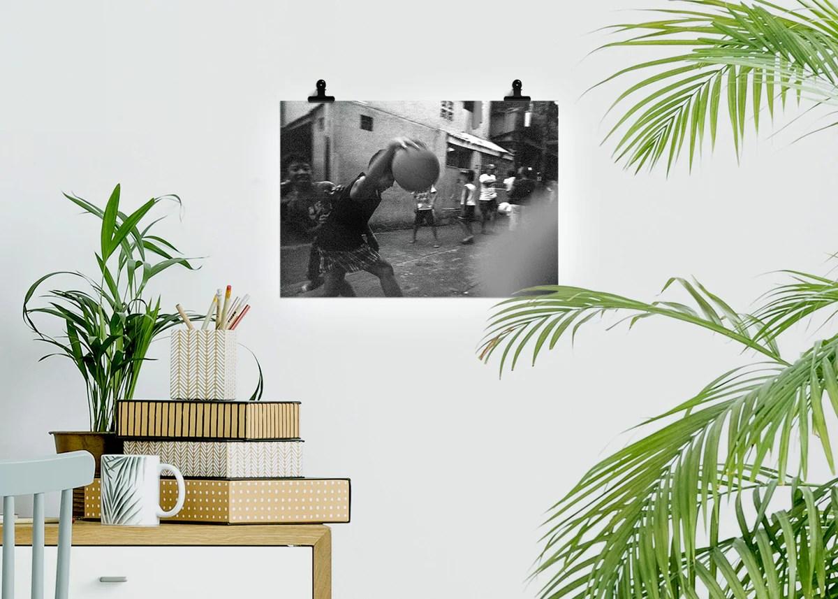 play with me von john wesley c viloria poster postkarte ame art meets education e v