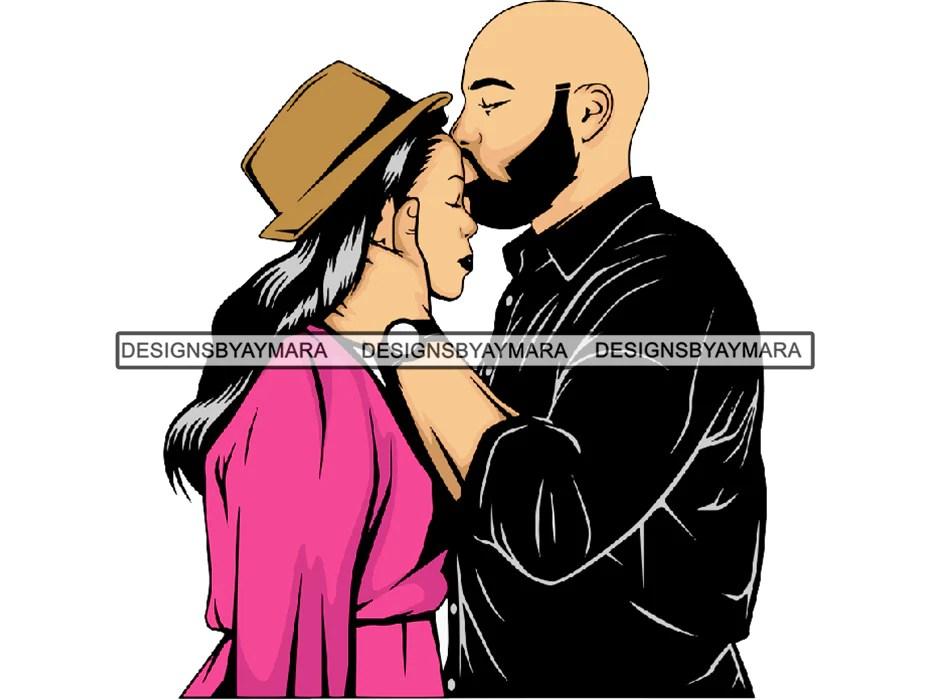 Download Black Couple Goals SVG Relationship African Ethnicity ...